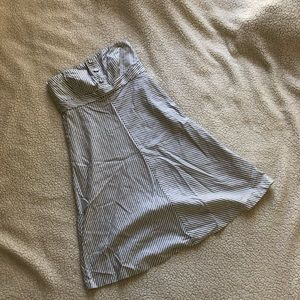 GAP   Strapless Striped Dress